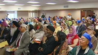 Sikh Community Speaks Out Against Hate