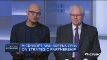 Microsoft signs a huge deal with Walgreens, as Amazon's growing interest in health care looms large