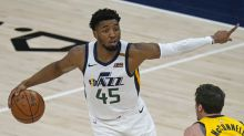Utah Jazz guard Donovan Mitchell exits game against Indiana Pacers with right ankle injury