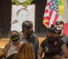 Mourners gather in Houston to remember slain soldier