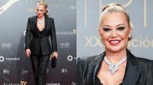Belén Esteban, protagonista en la alfombra roja de los premios Iris 2019