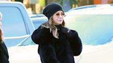 Jennifer Aniston Stepped Out with Pals Jason Bateman and Jimmy Kimmel on New Year's Eve