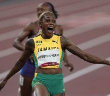 Elaine Thompson-Herah breaks 33-year Olympic record in 100m race