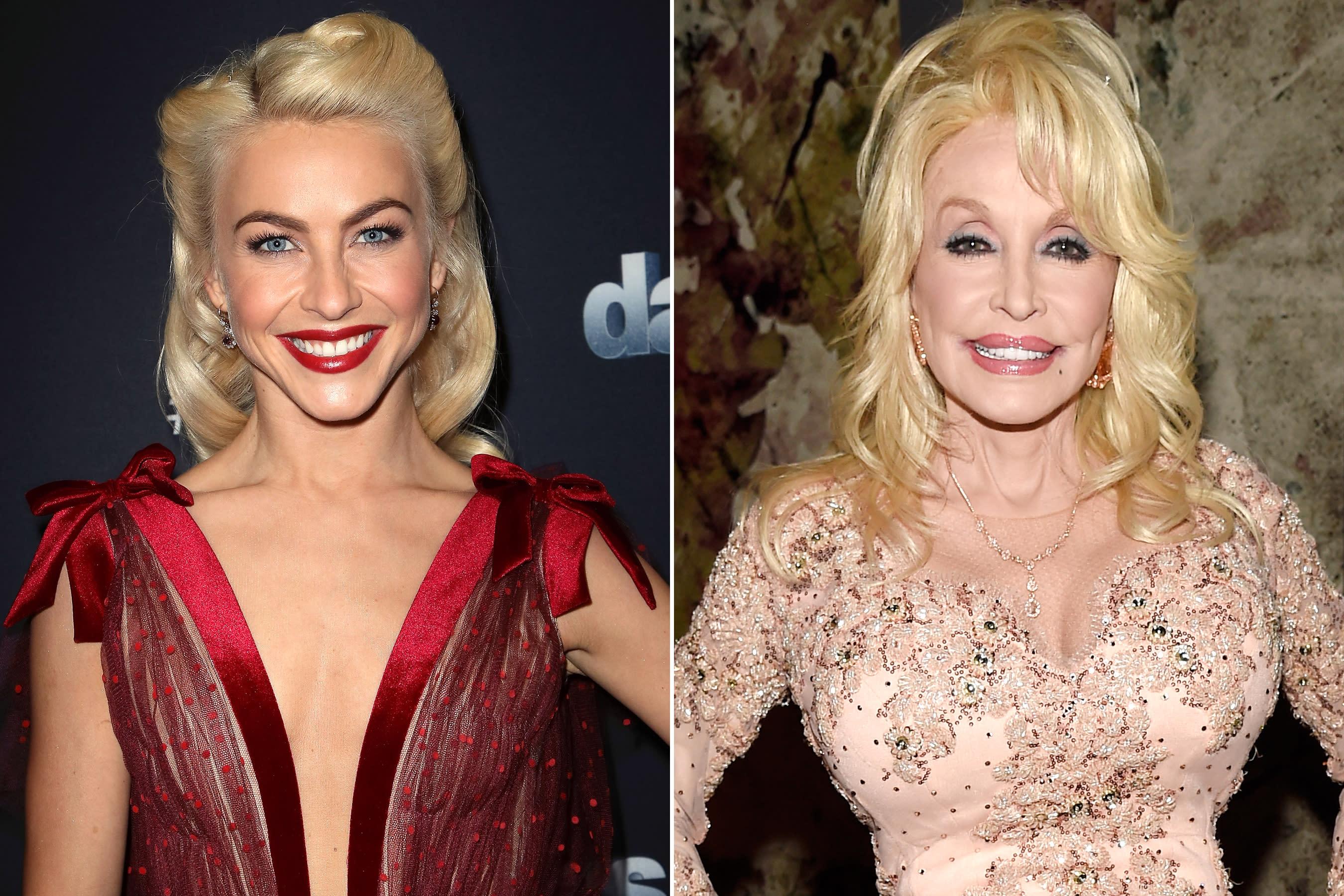 Julianne Hough Cast As Jolene In Dolly Parton Anthology Show