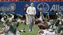 Alabama strength coach smashes 2016 runner-up trophy with sledgehammer (Video)