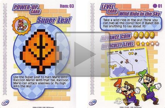Scan this footage of Super Mario Advance 4's e-Reader content