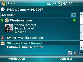 Windows Mobile 6 out, supports new resolutions too
