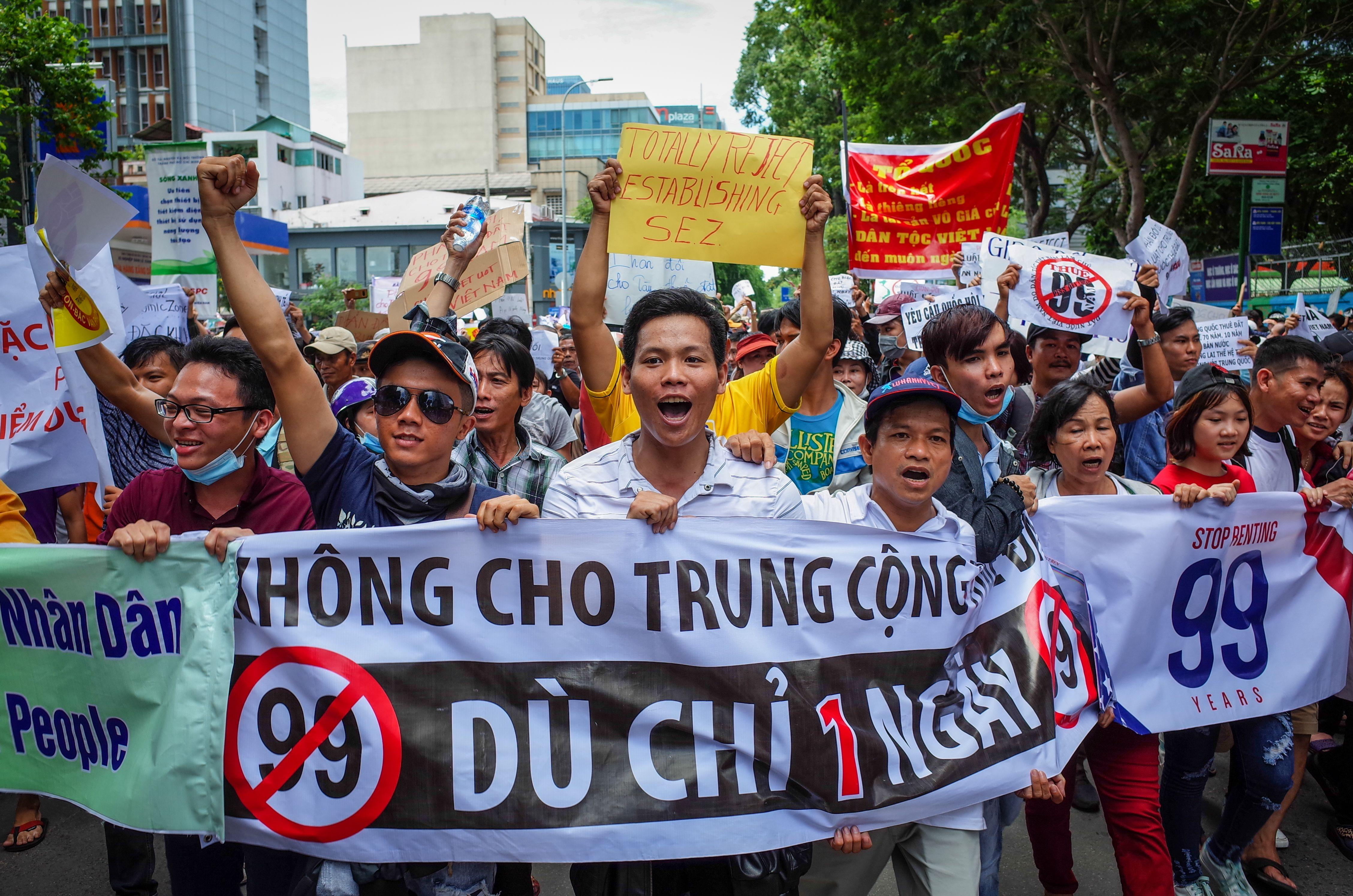 American University Student Arrested in Police Crackdown on Protests in Vietnam