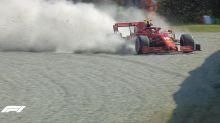 Incubo Ferrari a Monza: Vettel si ritira, Leclerc si schianta. Trionfa Gasly