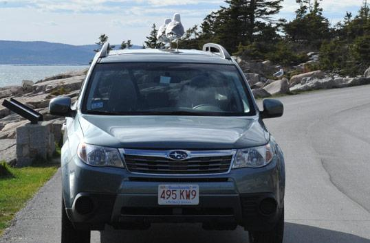 2011 Subaru Outback gains in-car WiFi option, strange Maine birds not included