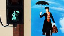 Instalan semáforos de Mary Poppins ¡y aquí también los queremos!