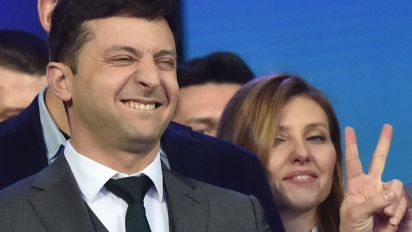 Comedian wins Ukraine presidency in landslide