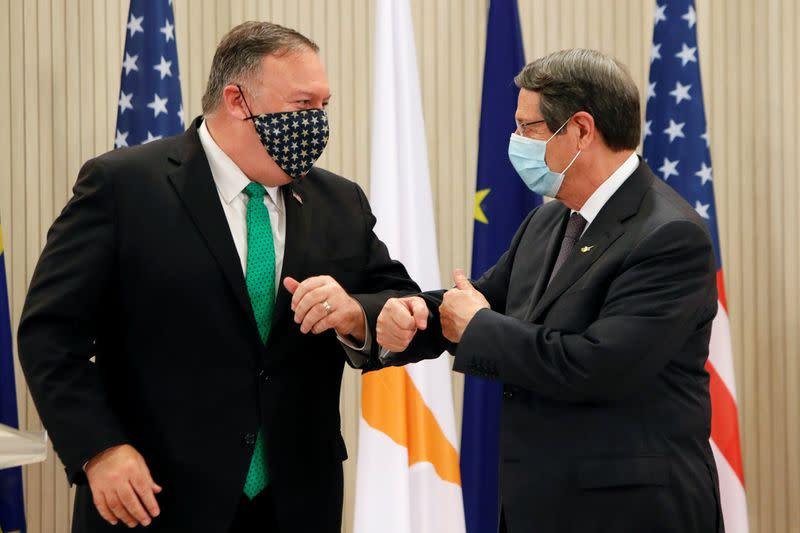 Turkey says U.S. needs to return to neutral stance on Cyprus