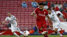 Premier League: Mohamed Salah hat trick propels Liverpool past Leeds in a seven-goal thriller (video)