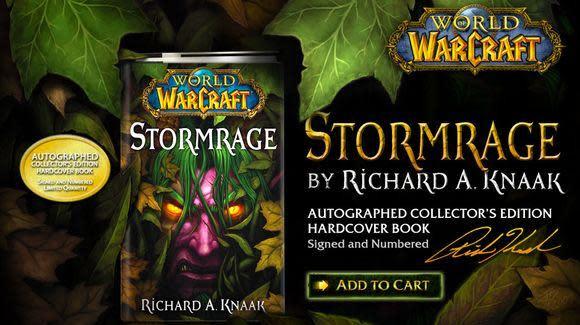 WoW.com reviews Richard A. Knaak's Stormrage