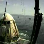 SpaceX Crew Dragon capsule recovered after historic splash down