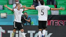 Germany romp to victory in six-goal thriller afterPortugal score two own goals