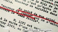 Les Renseignements généraux ont espionné le couple Montand-Signoret pendant des dizaines d'années