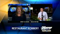 Bartender killed during robbery