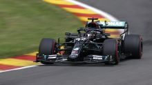 Lewis Hamilton sets track record in securing pole for Belgian Grand Prix