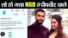 Deepika  Ranveer Wedding: Deepika Padukone's NGO is now #Deepveer Wale; Here's How