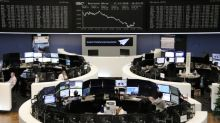 European shares falter as worst year since 2008 nears its end