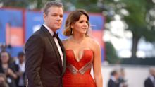 Matt Damon Kicks Off Venice Film Festival with His Wife Luciana By His Side