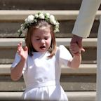 You'll Laugh HYSTERICALLY at These Before-and-After Photos of Princess Charlotte Sneezing at the Royal Wedding