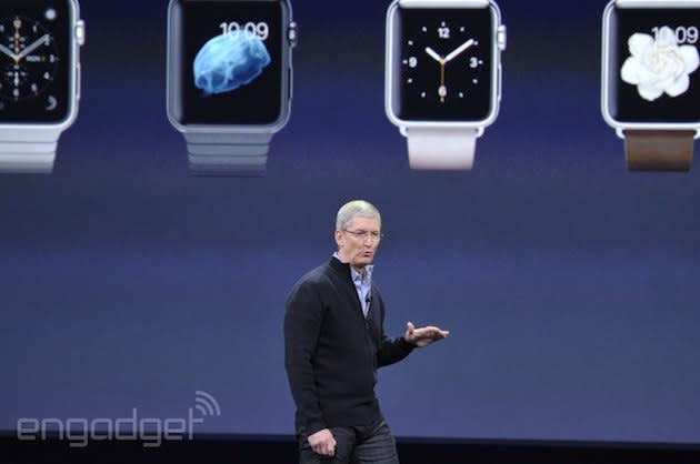Apple Watch UK pricing starts at £299, available to order from April 10th