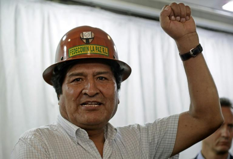 Ex-president Evo Morales, exiled in Argentina, was the first indigenous leader of Bolivia