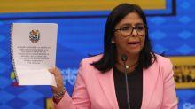 Trinidad y Tobago niega la relación de la visita de Delcy Rodríguez con la acusación de EE.UU.