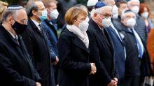 Allemagne: des croix gammées à Halle, un an après l'attentat qui a fait deux morts