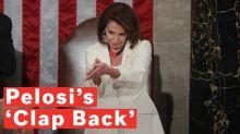 Nancy Pelosi's 'sarcastic clap' goes viral
