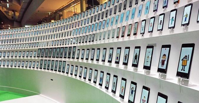 Google's Android Chorus is 300 devices together in tinny harmony