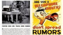 'Rumor Clinics', la eficaz columna del Boston Herald para descubrir Fake News lanzados durante la IIGM