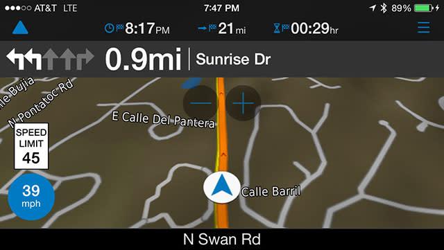 Test driving the new Garmin viago navigation app