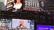 Lincoln Project targets Ivanka and Jared for Covid-19 death count with massive Times Square billboards