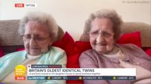 Doris Hobday, one of Britain's oldest identical twins, dies after contracting coronavirus aged 96