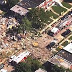 At 1 dead and 4 injured after massive gas explosion destroys houses in Baltimore