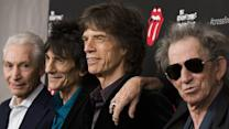 Rolling Stones rock the red carpet in NY