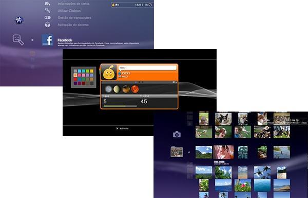 Leaked PS3 XMB images hint at Facebook integration, new image layout