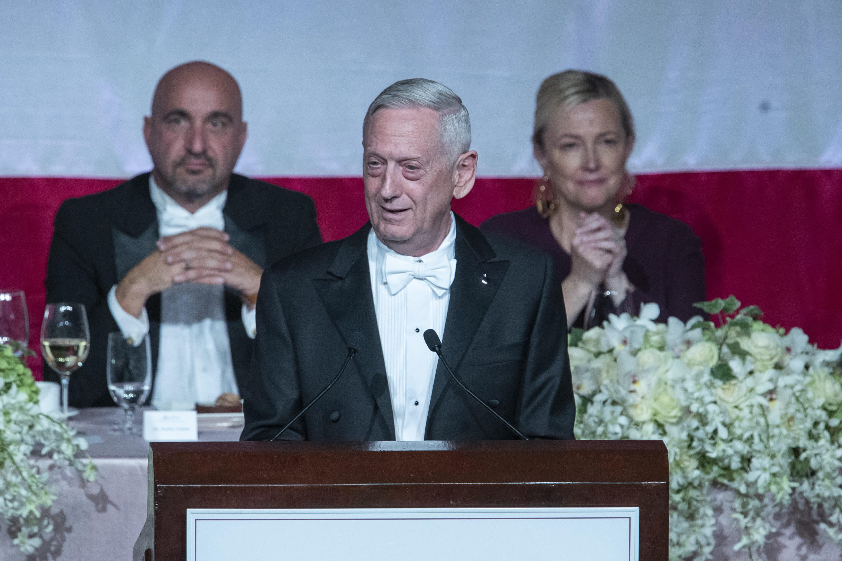 General Mattis takes swipe at Trump