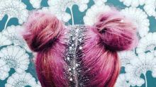 New 'Glitter Roots' Hair Trend Isn't for Wallflowers