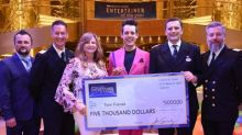 Musical Comedian Tom Franek Voted Princess Cruises' 2018 Entertainer of the Year