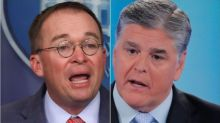 Sean Hannity Flips Out Over Mick Mulvaney's 'Idiotic' News Conference