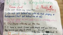 10-year-old writes hilarious letter to boy about'boundaries'