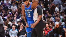 Paul George doesn't take any positives from Thunder's meeting with NBA officials