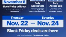 Black Friday Starts Now at Best Buy; Hundreds of Deals from Just-Released Black Friday Ad Available Today Through Sunday