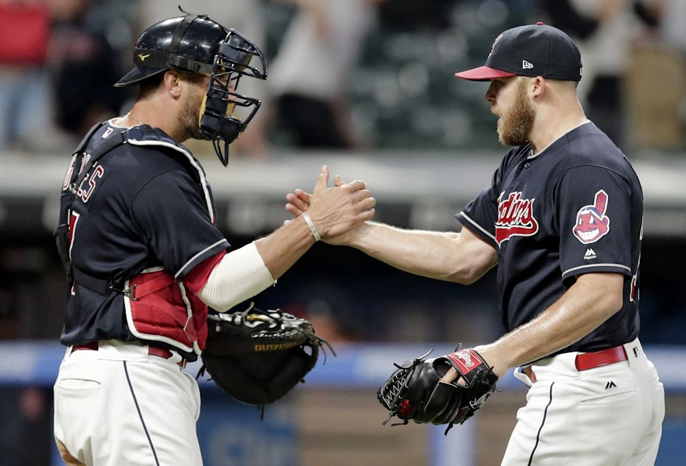 Cody Allen was named the AL reliever of the month for April. (AP)