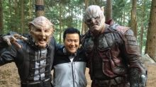 'Star Trek Beyond' Guessing Game: Who Are These Two Actors With Director Justin Lin?